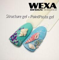 Structure gel - White