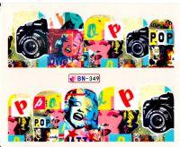 Vodolepky Pop Art BN-349