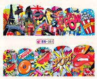 Vodolepky Pop Art BN-351