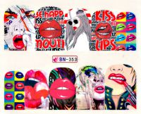 Vodolepky Pop Art BN-353