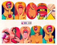 Vodolepky Pop Art BN-358