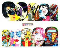 Vodolepky Pop Art BN387