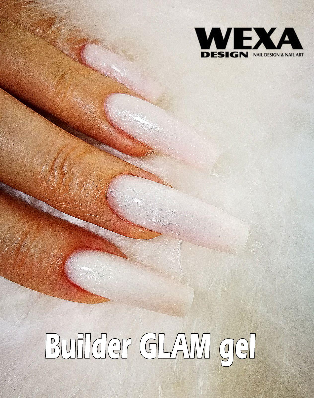 Builder GLAM LED/UV gél na nechty 50ml