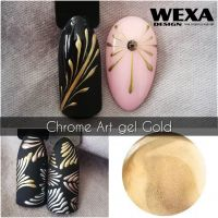 Chrome Art gel - Gold