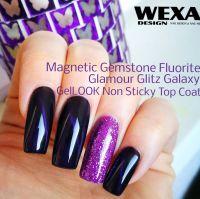 Farebný uv gél - Magnetic Fluorite Gemstone