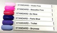 Farebný uv gél - Standard Beautiful Pink