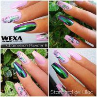 Farebný uv gel - Standard Lilac