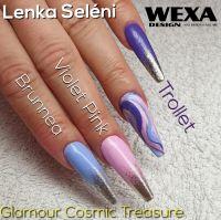 Farebný uv gél - Standard Violet Pink