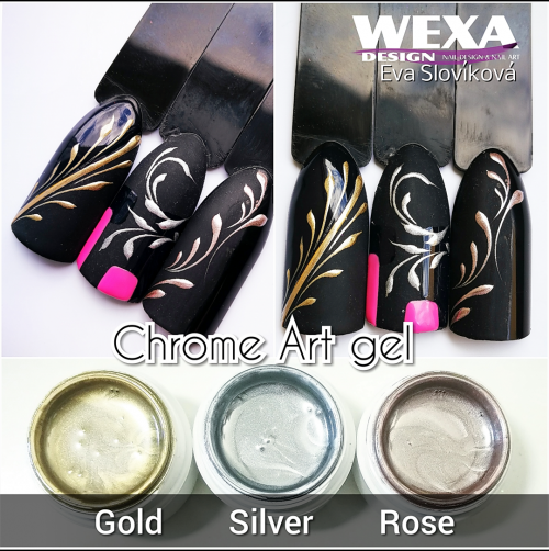 Chrome Art gel