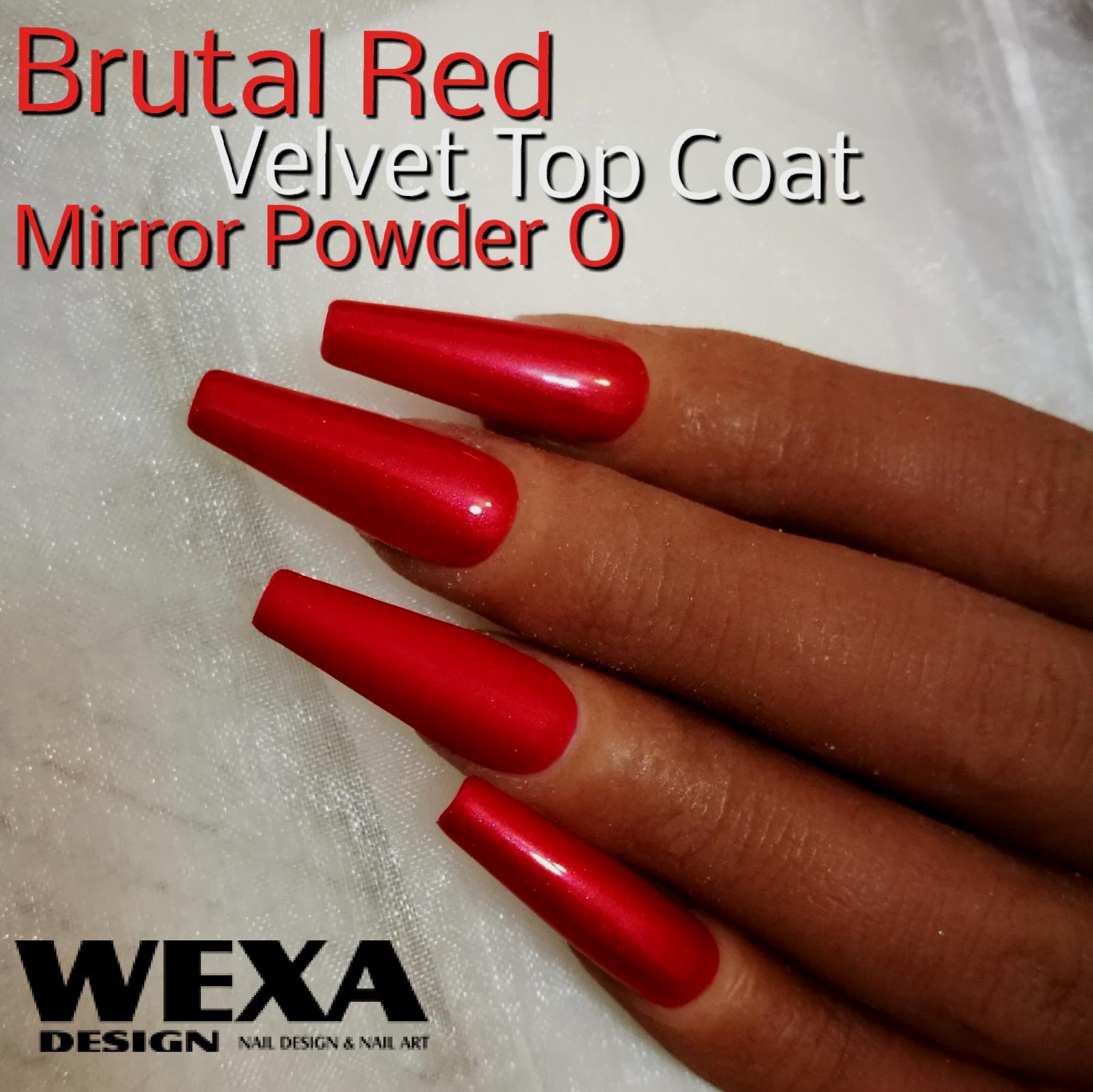 Mirror Powder O - červený