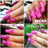 Stamping gel - Black