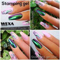 Stamping gel - White