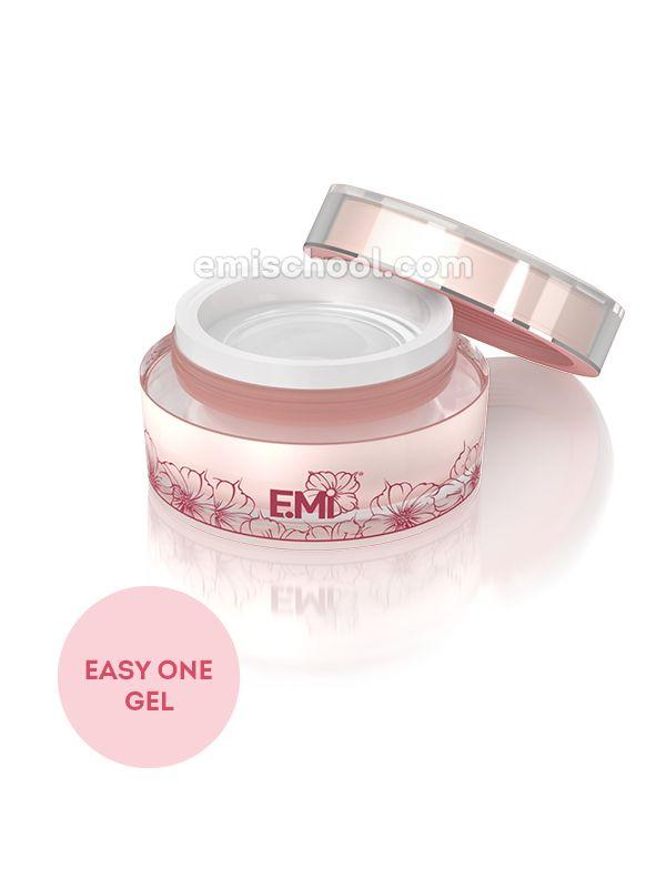 Easy One Gel - jednofázový, průhledný modelovací gel 3 v 1 (podklad, modeláž, ochrana), 50 g.