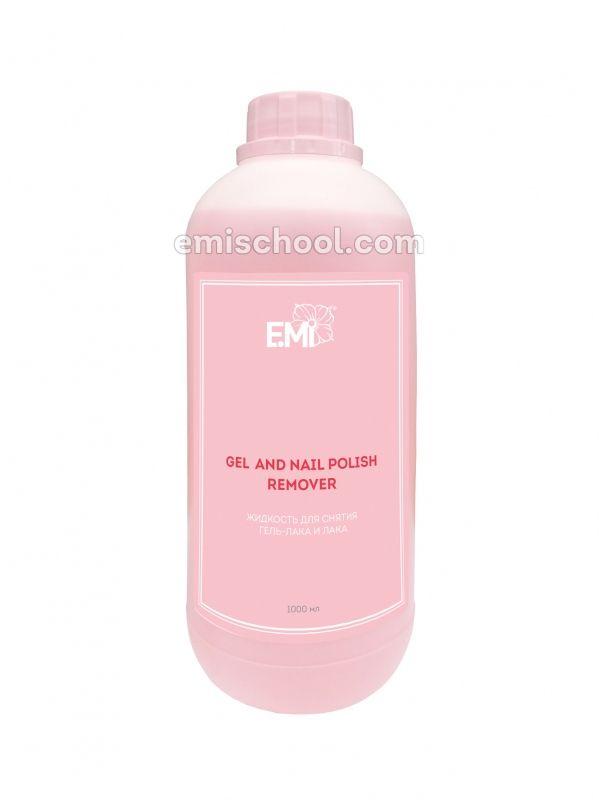 Gel and Nail Polish Remover, 1000 ml.