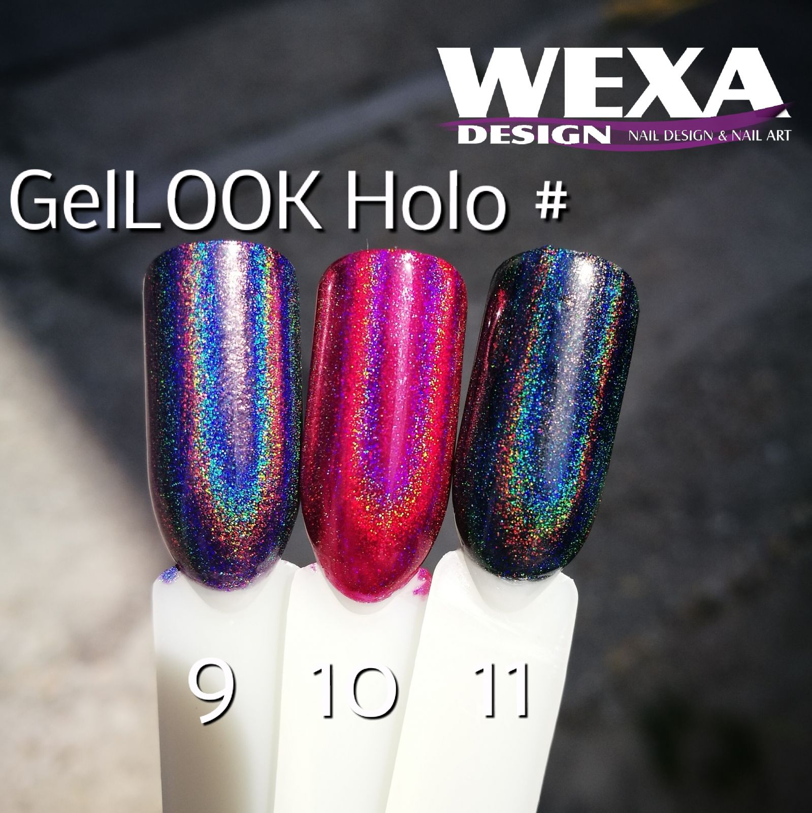 GelLOOK Holographic #11 Unicorn efekt