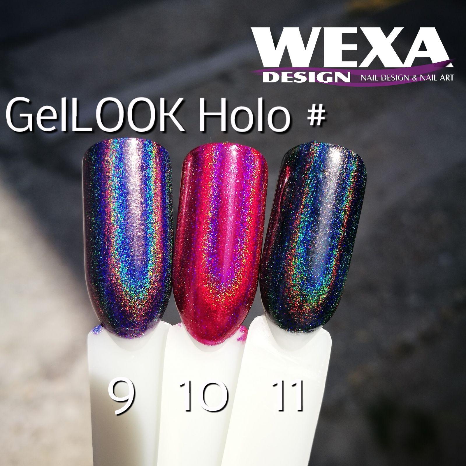 GelLOOK Holographic #9 Unicorn efekt