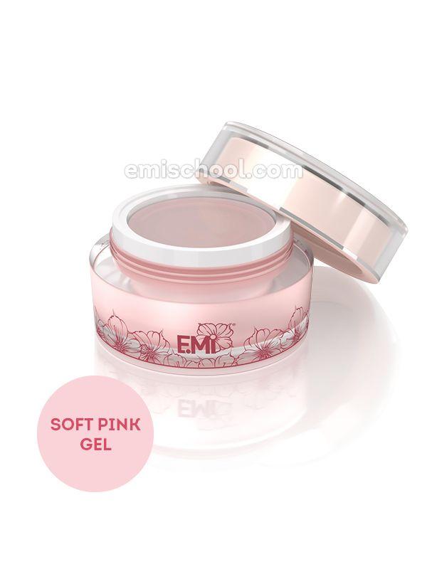 Soft Pink Gel - jednofázový kamuflážní modelační gel:, 15 g.