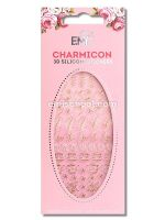 Charmicon 3D Silicone Stickers Jewelry Gold #5