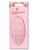 Charmicon 3D Silicone Stickers Jewelry Silver #5