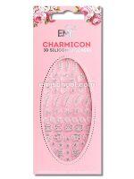 Charmicon 3D Silicone Stickers Jewelry Silver #5