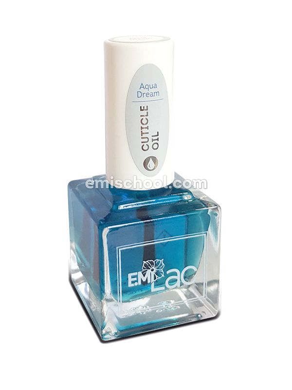 E.MiLac Cuticle Oil Aqua Dream, 15 ml.