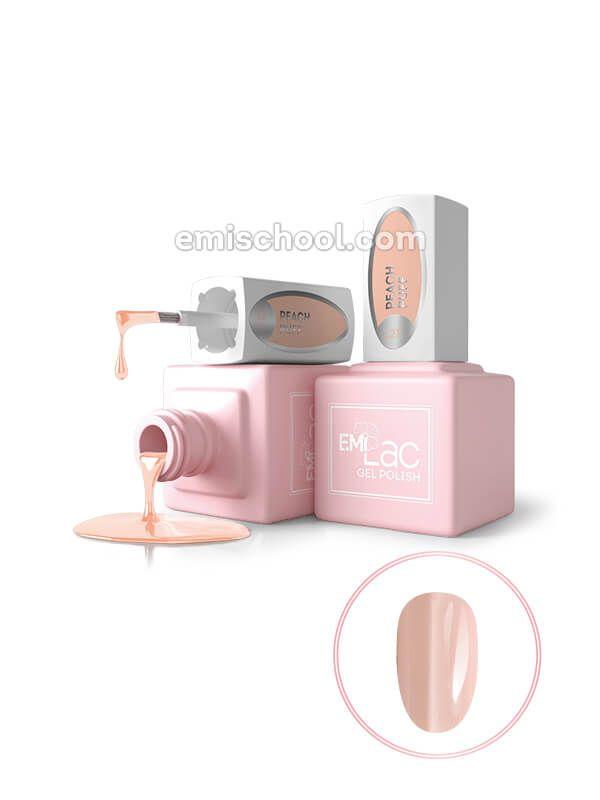 E.MiLac TGR Peach Puff №127, 9 ml.