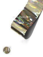 Holografická fólie Silver #4 Flame 1,5 m.