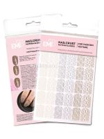 "NAILCRUST šablony-slidery ""Knitting Patterns"" #30"