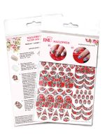 Naildress Slider Design Red SIlk