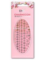 Charmicon 3D Silicone Stickers #49 Cruise Gold/Silver