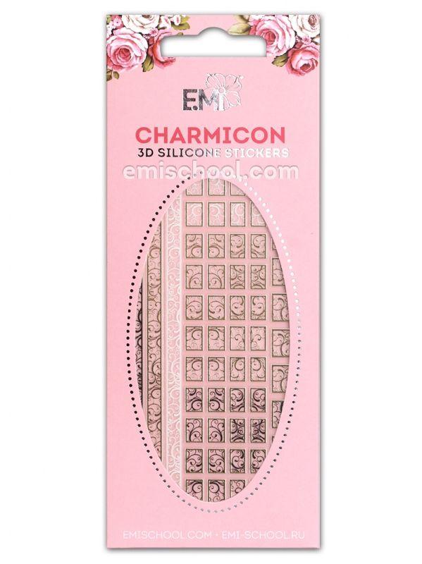 Charmicon 3D Silicone Stickers #75 Swirls