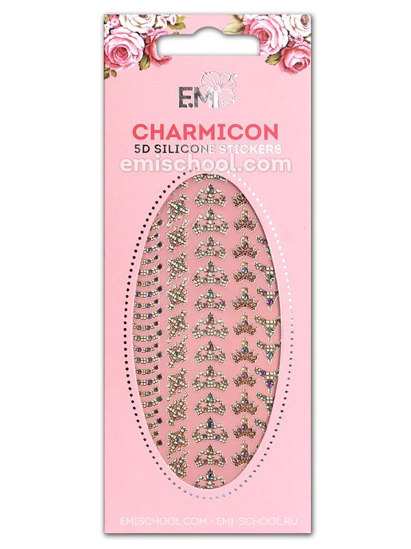 Charmicon 5D Silicone Stickers #54 Royal
