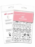 Naildress Slider Design #37 Watercolor Flowers