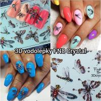 3D vodolepky FN8 Crystal