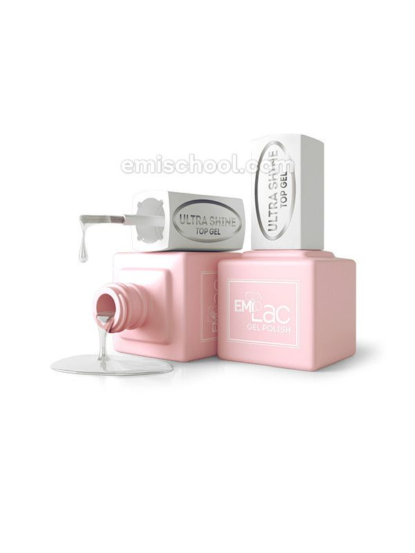 E.MiLac Ultra Shine Top Gel 9 ml.