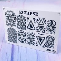 ECLIPSE vodolepky 3D118 black