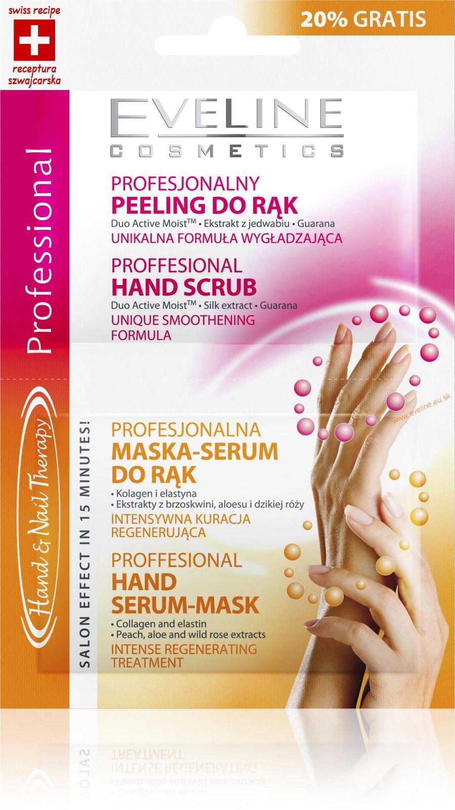 Eveline SOS peeling + maska na ruky