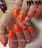 GelLOOK - Neon Orange