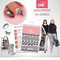 Naildress Slider Design #14 Zebra