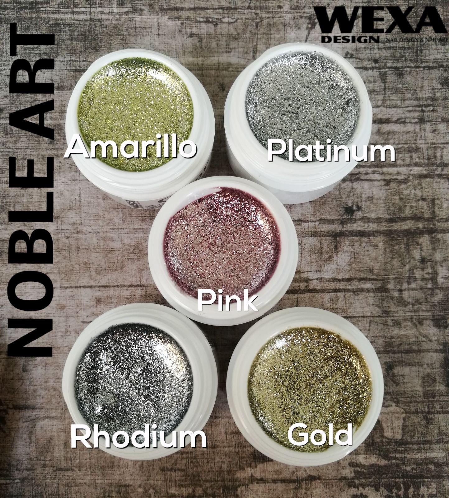 NOBLE Art gel na nechty - Amarillo