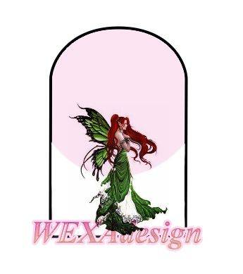 Nail Tattoos - Fairy Emerald M -2