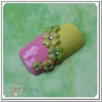 3D formička na nechty - Four leaved clover 002