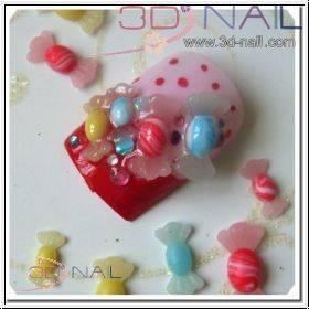 3D formička - Candy 038