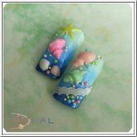 3D formička - Seashell 066