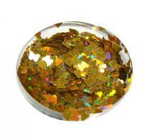 Konfety motýliky - V zlaté metal hologram L124