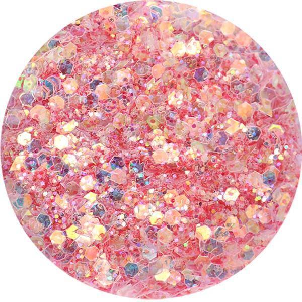 Super Glitter - M - jemne červený