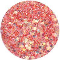 Super Glitter - P - červený