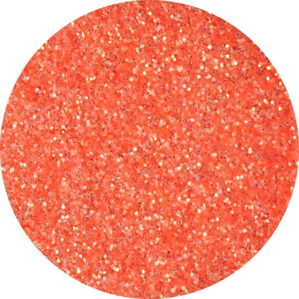Glitter Goldie - L - neon tmavooranžový