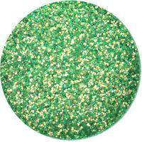Glitter Goldie - A - bledozelený