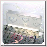 3D formička na nechty - Love Heart 005